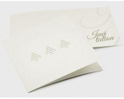 Kartki Zaproszenie Tłoczone