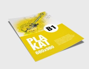Plakaty B1 Poznań