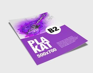 Plakaty B2 Poznań